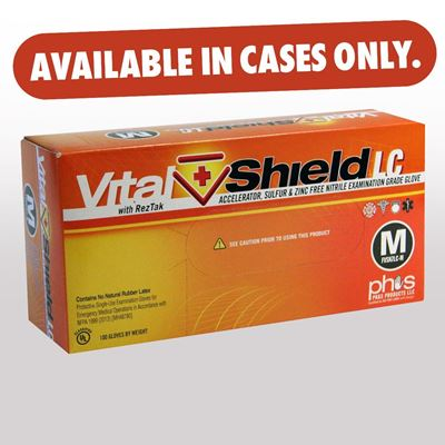 """Picture of VitalShield LC - 12"""" Long Cuff, 8 Mil - CASE ONLY - LIMITED AVAILABILTY"""