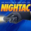 Picture of Nightac – Tactical Glove - 8 Gauge, Seamless Knit Black Nylon Liner